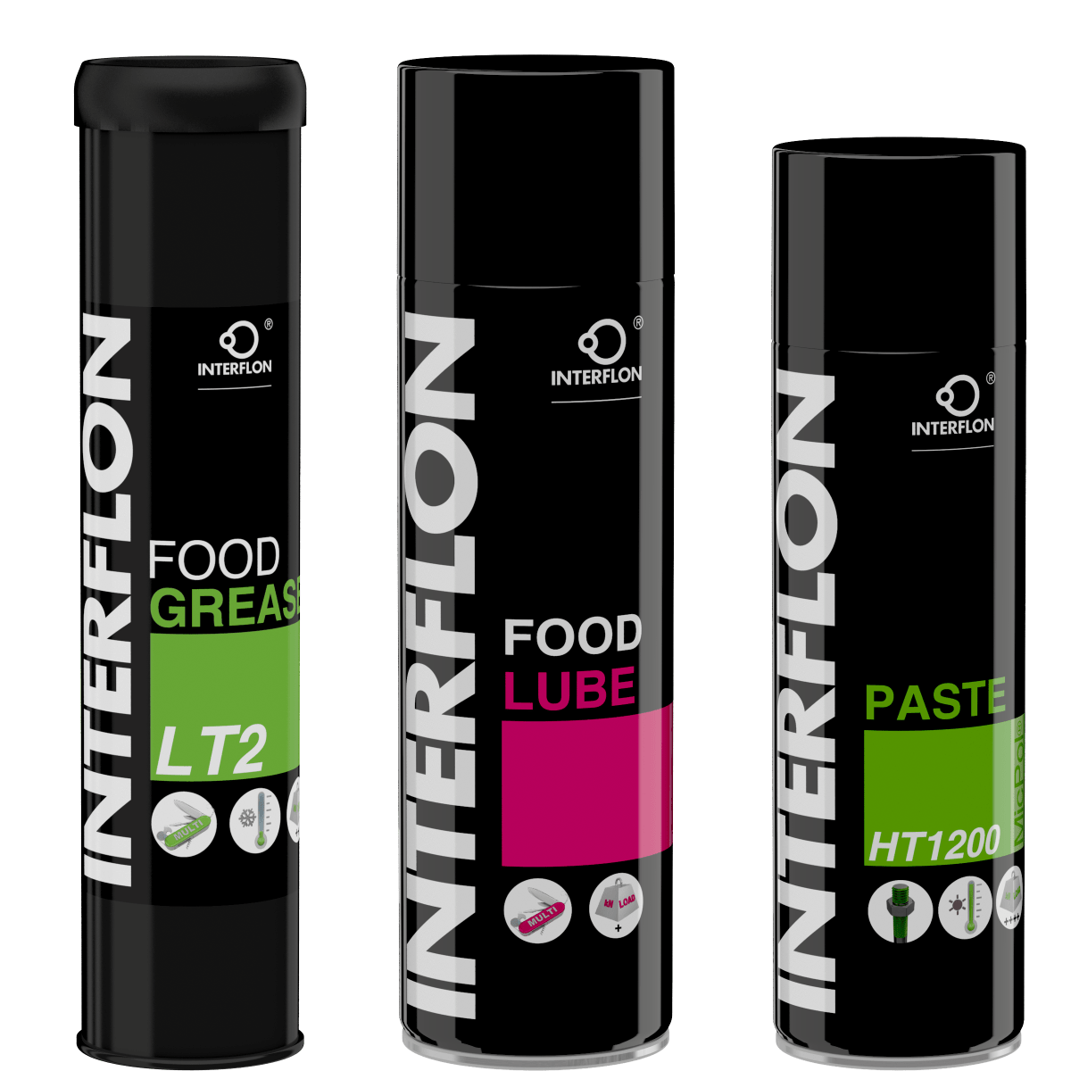 Interflon lubricants for food producers