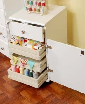 ARROW SUZI STORAGE CABINET ( white )