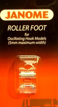 JANOME Roller Foot for Front Loading models PART NO. 200142001