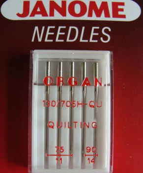QUILTING NEEDLES ASSORTED (5 PER PACKET)