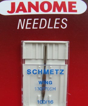 SCHMETZ WING NEEDLE (1 PER PACKET)