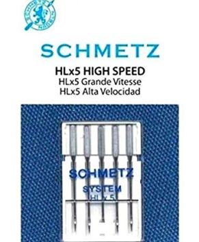 HLX5 NEEDLES HIGH SPEED - SIZE 14 (5 PER PACKET)