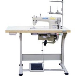 JUKI DDL8700 - HIGH SPEED STRAIGHT STITCH MACHINE WITH TABLE AND DC MOTOR