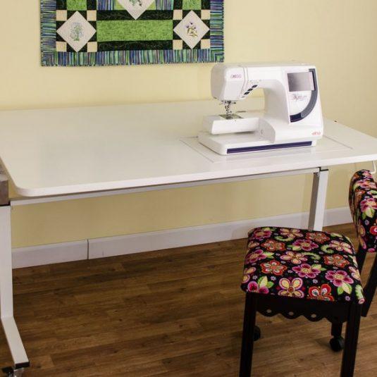 Tasmanian Ii Height Adjustable Table Nova Sewing Centre