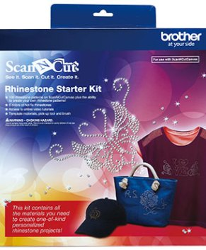 BROTHER SCAN AND CUT -Rhinestone Starter Kit -CARSKIT1