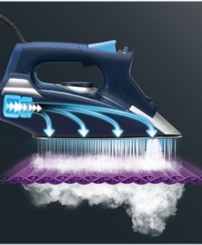 Rowenta Dw9280U1 Steam Force Iron, Blue