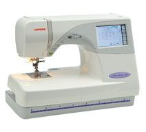 JANOME MC9700 - SEWING & EMBROIDERY MACHINE - DEMO FLOOR MODEL