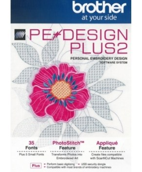 BROTHER PE DESIGN PLUS 2 - **NEW**