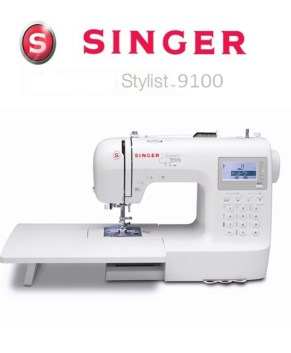 SINGER PROFESSION MODEL 9100 - BONUS -  Ext.Table included