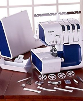 BROTHER 4234DT - 4 THREAD TOP OF THE LINE SERGER - WITH AUTO THREADER