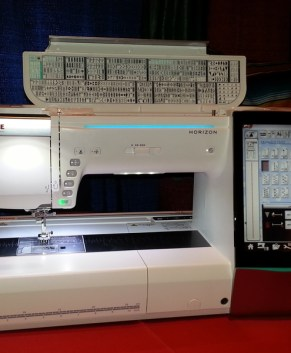 Janome MC15000 V1 Upgraded to V3 - Used -