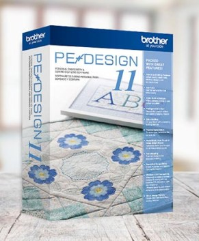 Brother PE Design 11 Digitizing software - PE11