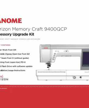 Janome MC9400 Horizon Upgrade Kit. - Clearance