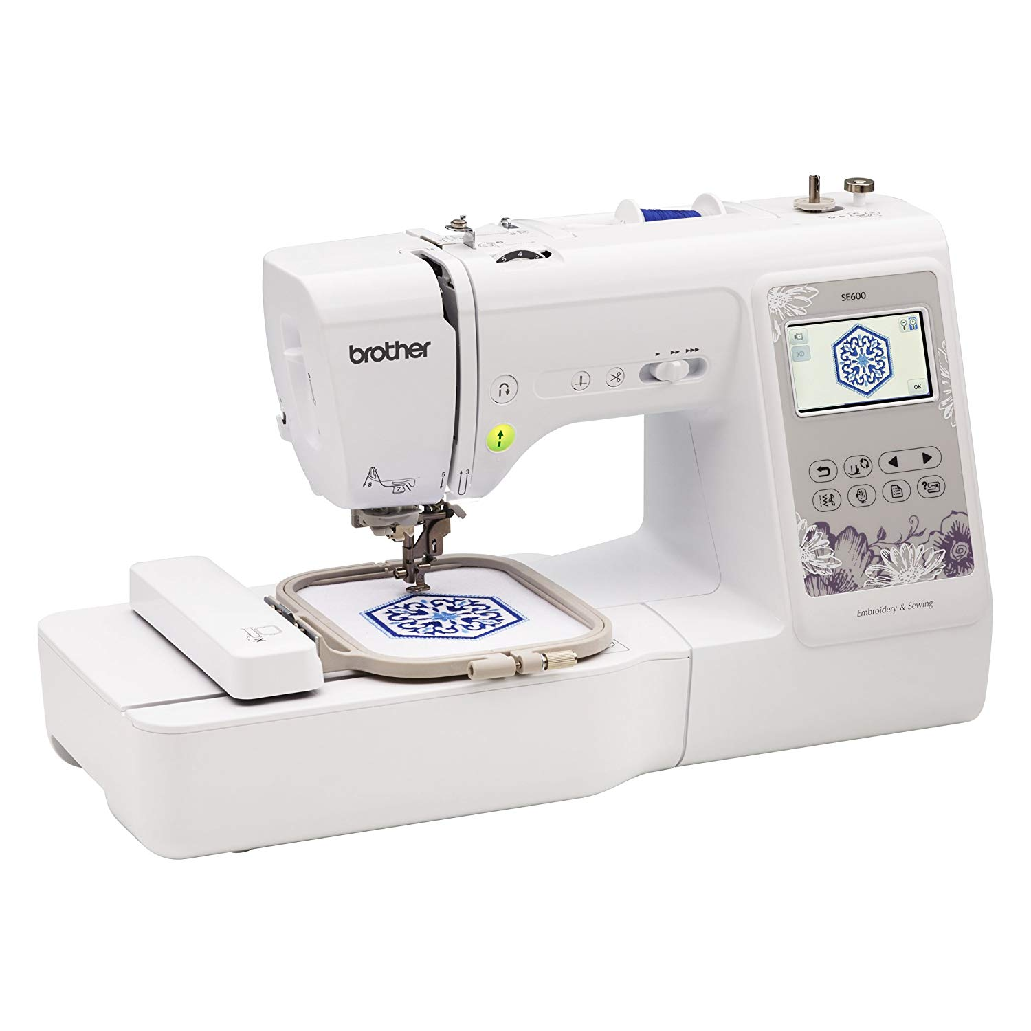 Brother Se600 4 4 Embroidery And Sewing Model Pre Order April Arrival Nova Sewing Centre