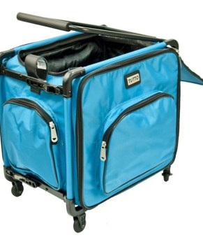 Tutto Serger Rolling bag - Flash Sale - 9217SG-Small Turquois