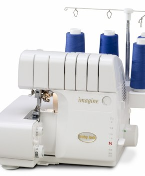 Babylock Imagine Overlock machine with air threading - Call for lowest price in Canada 905-549-8052