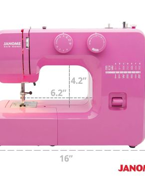 JANOME PINK SORBET - Model 311 Sewing machine - NO TAX SALE