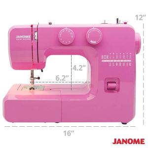 JANOME PINK SORBET - Model 311 Sewing machine ... 7bca5f6048e2e