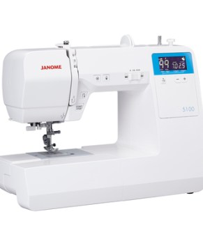Janome 5100 Computerized Sewing and Quilting Machine with Bonus