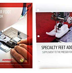 Janome Specialty Feet Workbook Addendum
