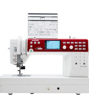 Janome MC6650 Computerized Sewing Machine Bundle - Free Walking foot