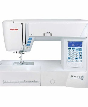 JANOME SKYLINE S3 - SEWING MACHINE - 8