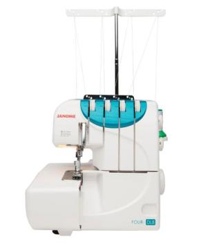 JANOME FOUR DLB - 4 Thread serger  - New