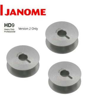 Janome Jumbo Bobbin (V2) 5 Pack 767860107 - JANOME HD9 V2