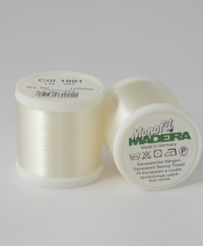 Madeira Monofil 9761 Thread 60wt 200M spool Clear