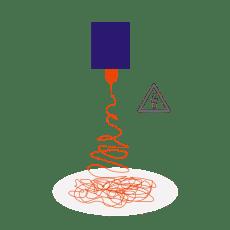 melt electrowriting nanofibers electrospinning