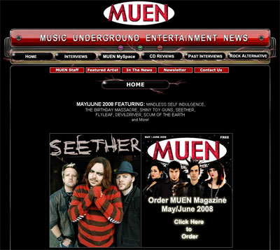 Music Website Design Music Websites For Radio Musicians