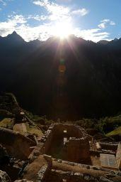 Solstice Sunrise at Machu Picchu 21 June 2014