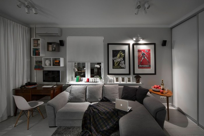L-Letter-Shaped-Grey-Couch-Placement-to-Enhance-the-Room-Quality-Small-and-Smart-Living-Room-Design-Ideas-with-Wall-Pictures-936x624