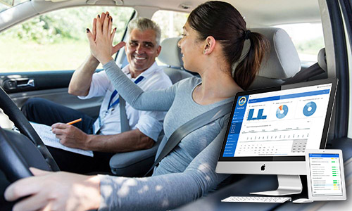 driving school management system by NovaTechZone