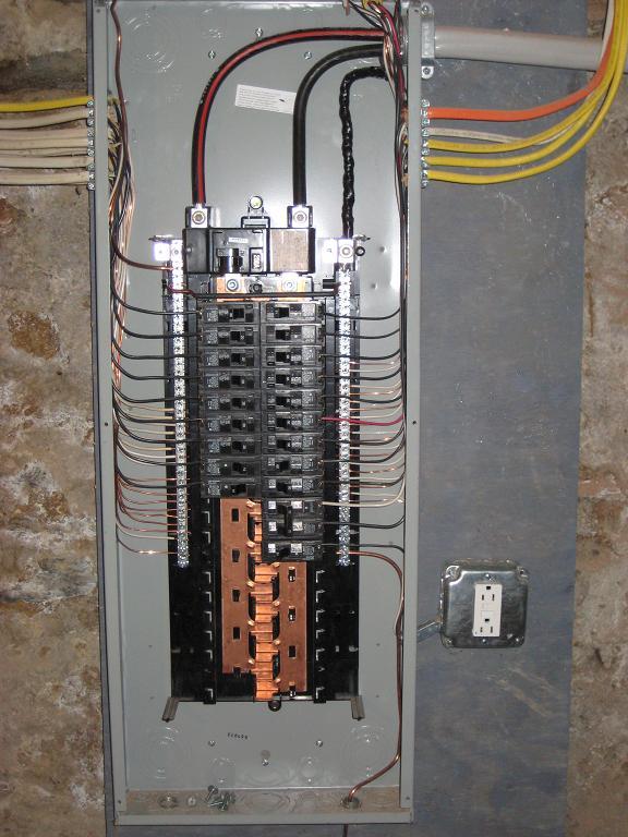 100 Amp Detached Sub Panel Wiring Diagram Novatek Electric Electrical Panel Install Upgrades