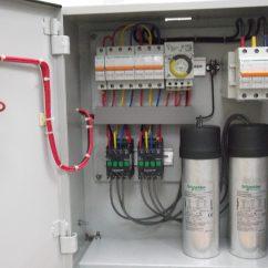 Ceiling Fan Electrical Wiring Diagram Government Circular Flow Power Factor Correction - Capacitor Bank | Novatek Electric
