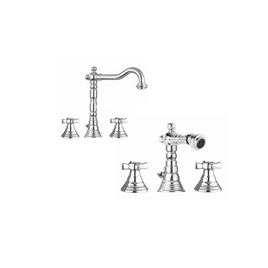 coppia-rubinetti-lavabo-e-bidet-con-scarico