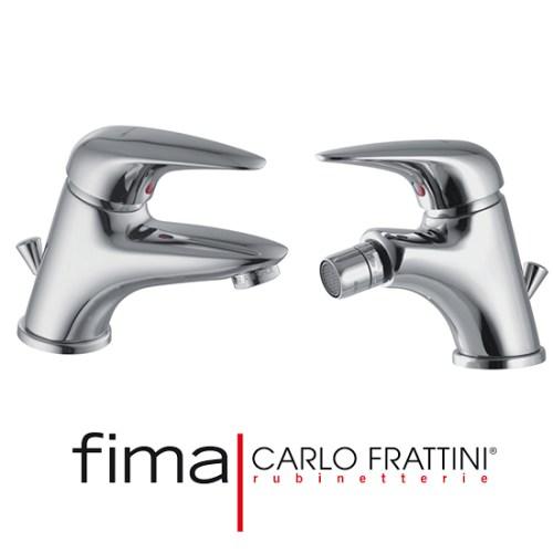 coppia-di-miscelatori-fima-carlo-frattini-lavabo-e-bidet-serie18