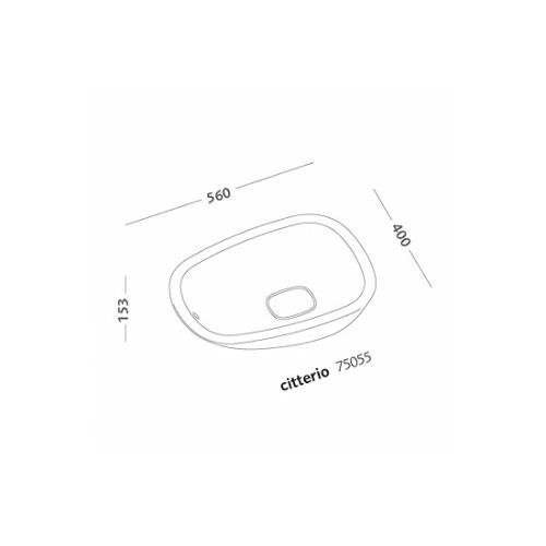 bacinella-56cm-citterio