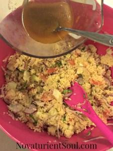 Healthy Couscous Bowl Recipe - NovaturientSoul.com