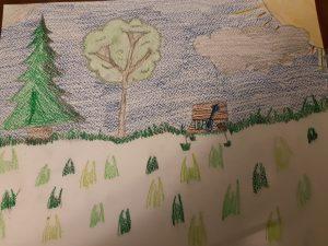"""Artist Description: """"Mental Health: Nature walks. Music. Art."""""""