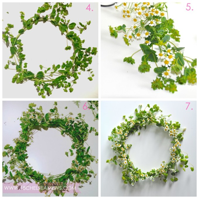 DIY wildflower wreath.5.www.18chelseamews.com