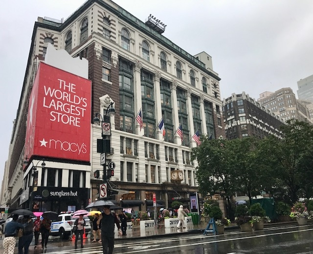 Macys Harald Square 6th Ave