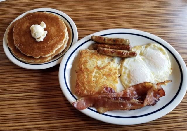 café da manhã em Nova York