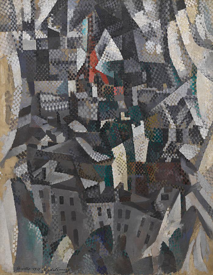 """Robert Delaunay, """"La città"""", 1911"""