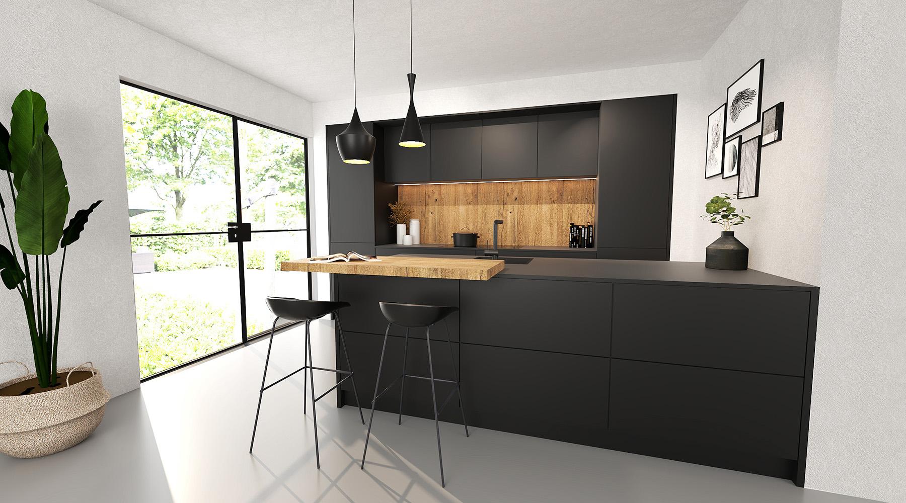 zwarte-fenix-keuken