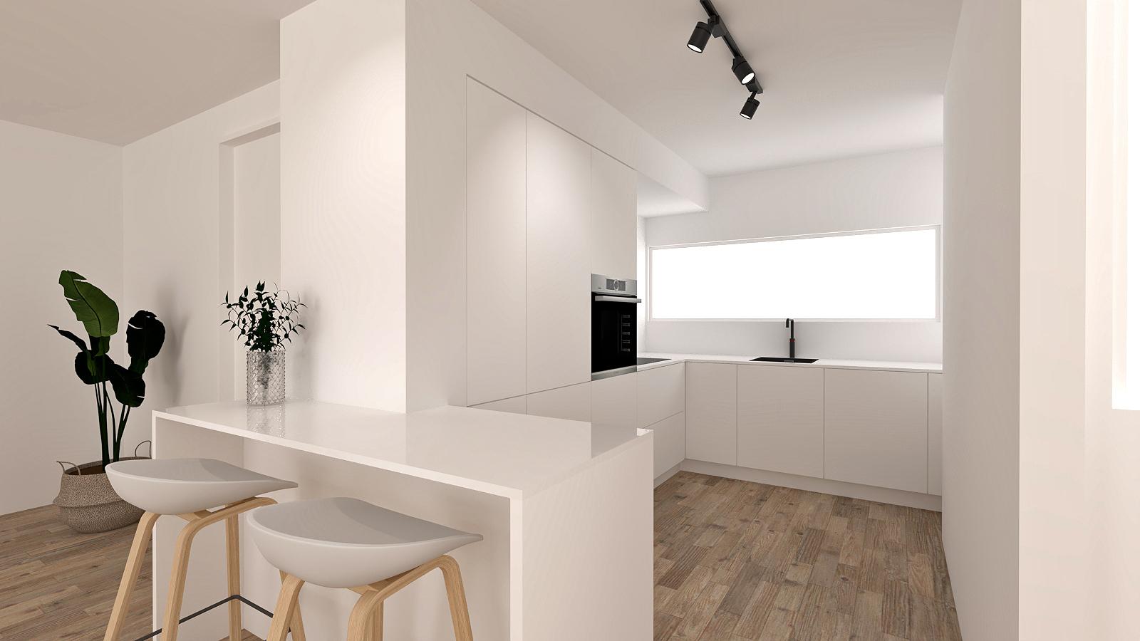 witte-keuken-met-bar