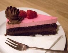 Malinový dort s vynikajícím krémem