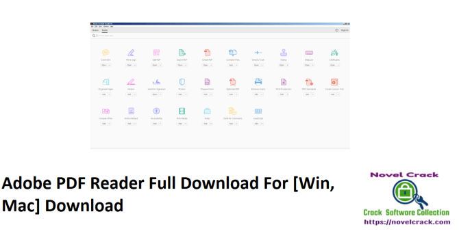 Adobe PDF Reader Full Download For [Win, Mac] Download
