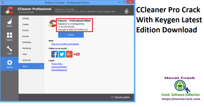CCleaner Pro Crack With Keygen Latest Edition Download